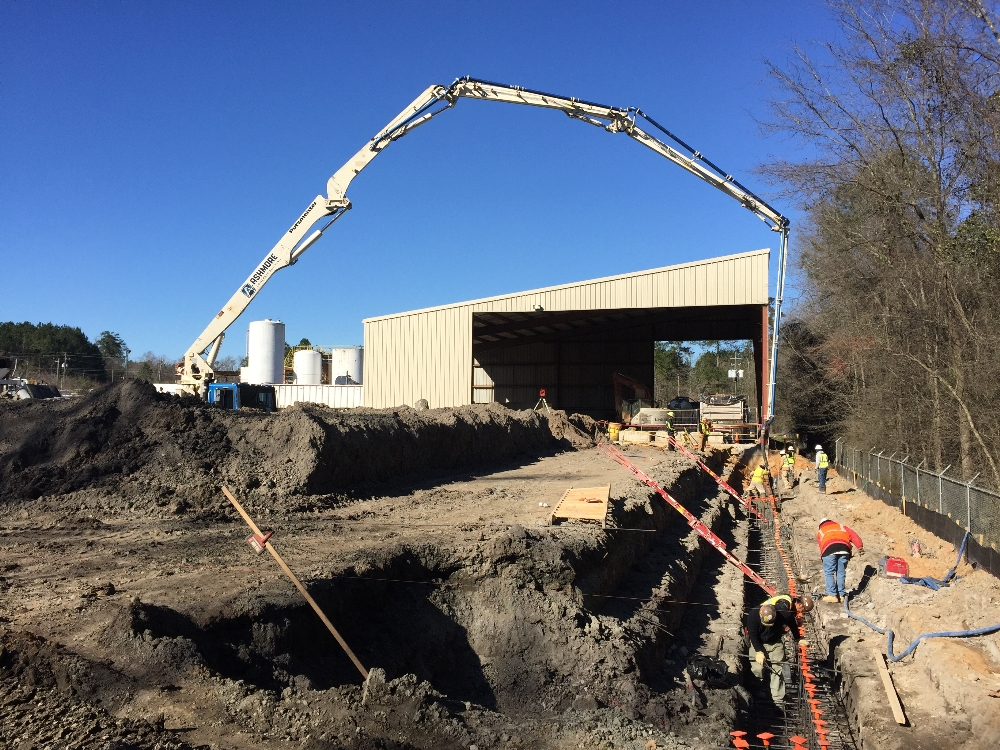 Industrial Concrete Services 15 | Atlantic Concrete Contractors